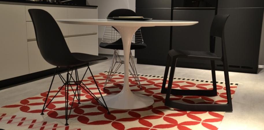 Tavolo tulip outlet knoll design shop a varese tavoli for Outlet tavoli design