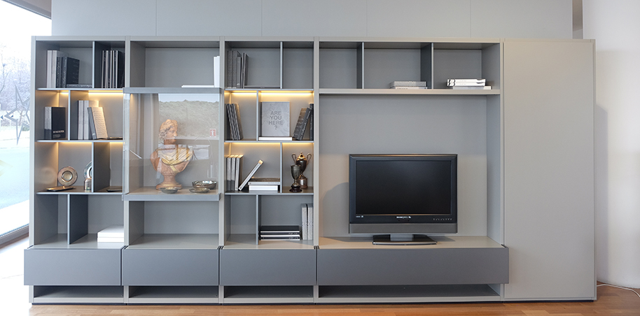 Wall System Poliform - Outlet Moro Arredamenti Lombardia - Home